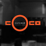 logo cafe bar coco