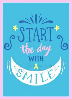 Mẫu thiết kế 070 - Start the day with a smile